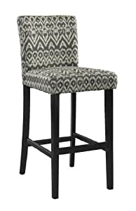 Amazon Com Linon Home Decor Bar Height Stool Morocco