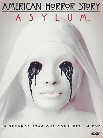 american horror story - season 02 (4 dvd) box set dvd Italian Import (American Horror Story Box Set)