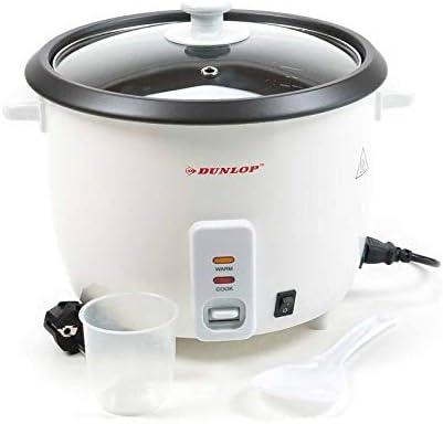 Elektrischer Reiskocher Reisgarer Dampfgarer 1Liter 400Watt Antihaftbeschichtung