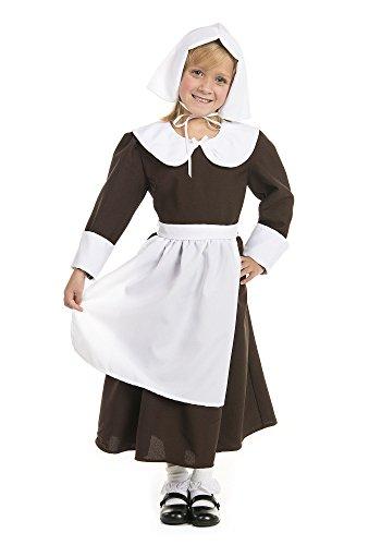Pilgrim Girl with Bonnet