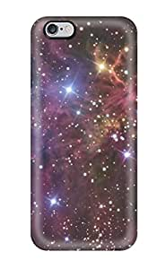 Tpu Shockproof/dirt-proof Fox Fur Nebula Cover Case For Iphone(6 Plus)