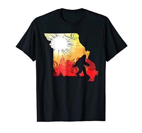 Special Edition Missouri Sunset Sasquatch Bigfoot T-Shirt