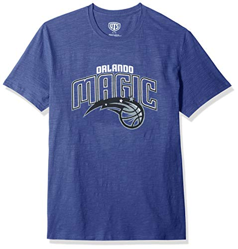 NBA Orlando Magic Male OTS Slub Distressed Tee, Royal, X-Large