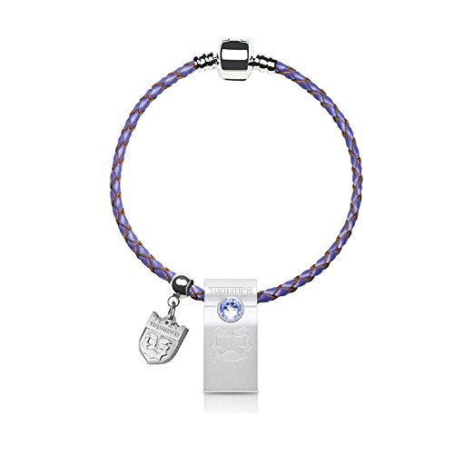 TOPMORE ZJ-S Series USB3.0 Encryption Security Flash Drive Rhinestones decorated with leather braided bracelet Flash Disk Memory Stick (64 GB, Purple) by TOPMORE