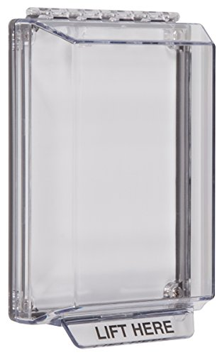 Clear Indoor Housing (Safety Technology International, Inc. STI-14000NC Universal Stopper Low Profile with Flush Mount, Indoor/Outdoor Clear Multi Purpose Protective Polycarbonate Cover)