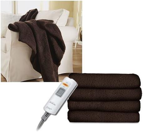 Queen Size Garnet Sunbeam LoftTec Ultra Soft Electric Heated Blanket