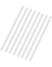 Cable Managment - Paintable Cable Concealer Kit - Mini Size Cable Cover for Hiding 1 Cord, Cuttable Wire Cover for Speaker Wire, Ethernet Cable - 8X L15.7in W0.5in H0.35in, Total 125in, White
