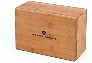 Hugger Mugger Bamboo Yoga Block by