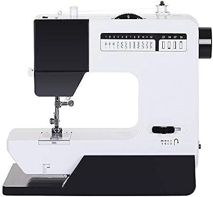 NEX máquina de coser para el hogar con mesa de extensión ajustable densidad ojales costura 12 puntadas costura inversa: Amazon.es: Hogar