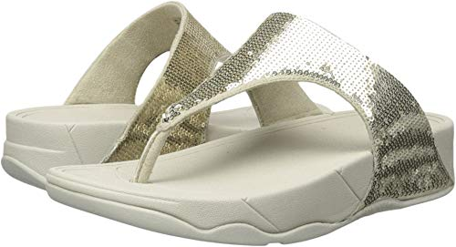 FitFlop Women's Classic Electra Sandal ,Pale Gold ,8 M US ()