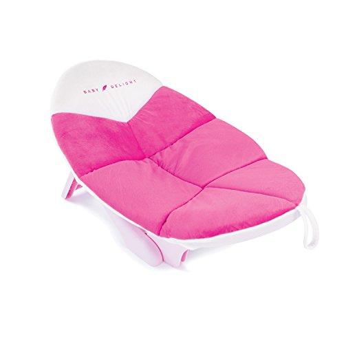 Lotus Tub - Cushy Nest Cloud Pink, Baby Bath Tub, Infant Bather