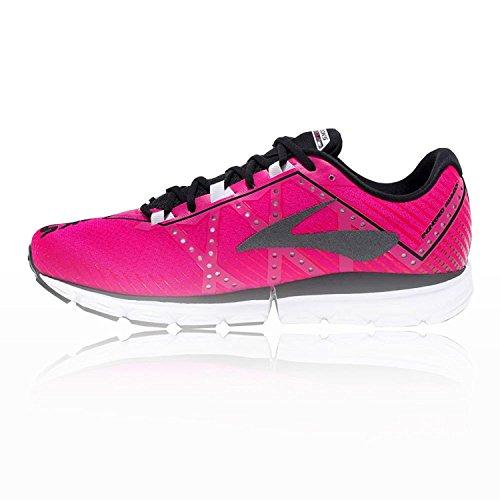 Brooks Damen Neuro 2 Laufschuhe Pink Glo / Nero / Bianco
