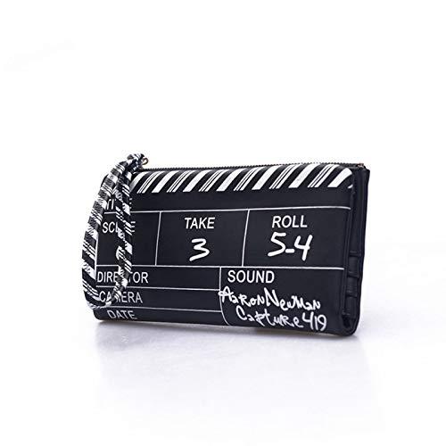 Amazon.com: AOU Mini Wallet Clutch Bags for Women 2018 Designer Film NG Board Clutches Girls Personality Purse carteras y bolsos de: Kitchen & Dining