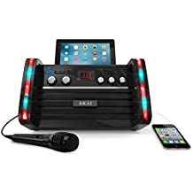 Akai Karaoke KS-213 CD+G Karaoke Player with iPad Cradle
