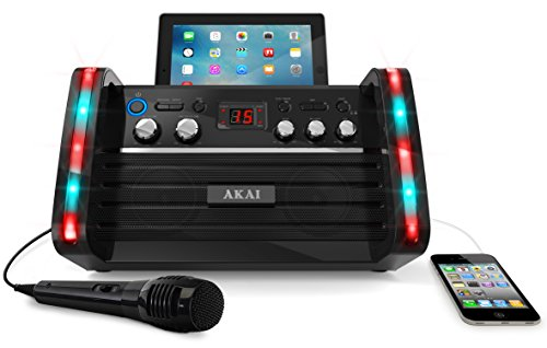 akai-ks213-portable-cdg-karaoke-system-with-tablet-cradle