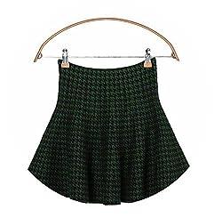 Mango Light Shirt 2019 New Women S High Waist Bottom Knitted Skirt Autumn A Line Skirt Green Bird Xl