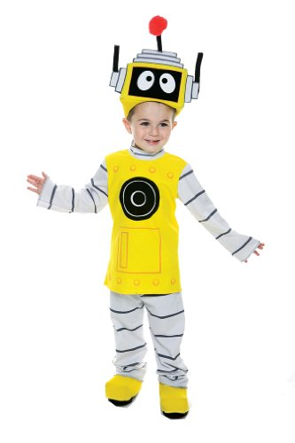 Yo Gabba Gabba Plex Toddler Costume, 2T(Shoes not Included)]()
