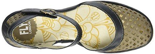 khaki Yadu732 Vert Femme 001 Sandales black Compensées London Fly 1wOYnHBq