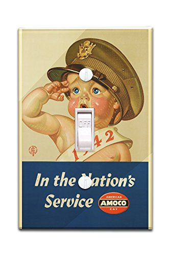 amoco-in-the-nations-service-vintage-poster-artist-leyendecker-joseph-c-usa-c-1942-light-switchplate