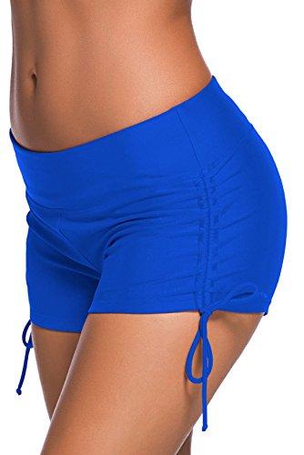 confit you - Damen Badeshorts in uni, S, Blau