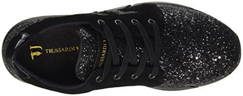 Trussardi Jeans 79s26051, Women's Flatform Pumps Black (Nero)