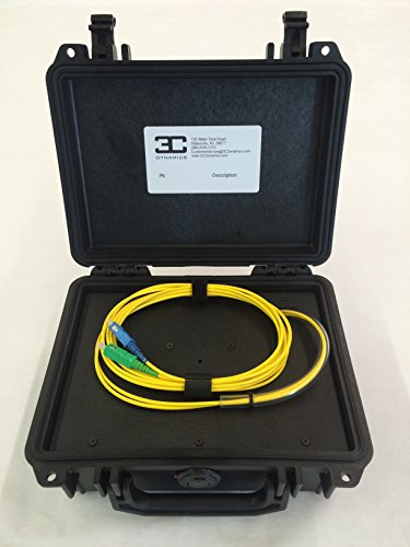 3C Dynamics Fiber Optic Launch Box, Single-mode, 500m, SCUPC SCAPC - Fiber Optic Launch Cable