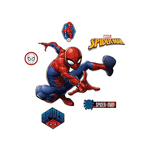 FATHEAD Spider-Man: Webslinger - Large Officially Licensed Marvel Removable Wall Decal -
