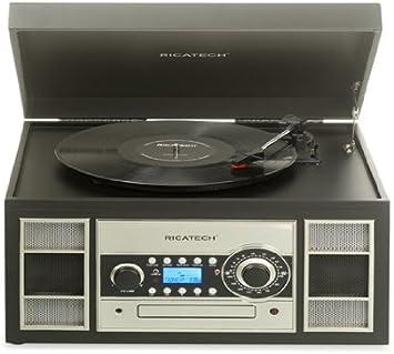 Ricatech RMC400 - Tocadiscos con digilizador MP3 (USB ...