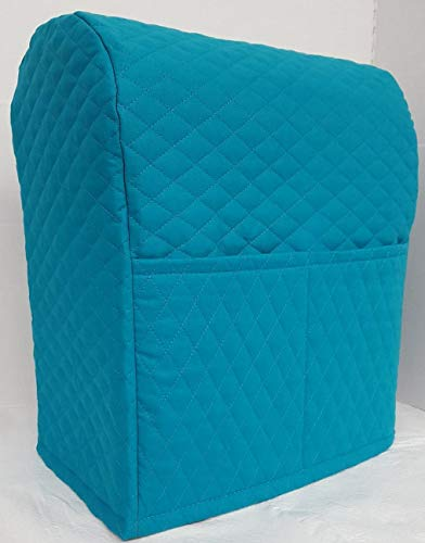 Penny's Needful Things Quilted Cover Compatible with Kitchenaid Stand Mixer (Dark Teal, 4.5,5,6qt Lift Bowl)