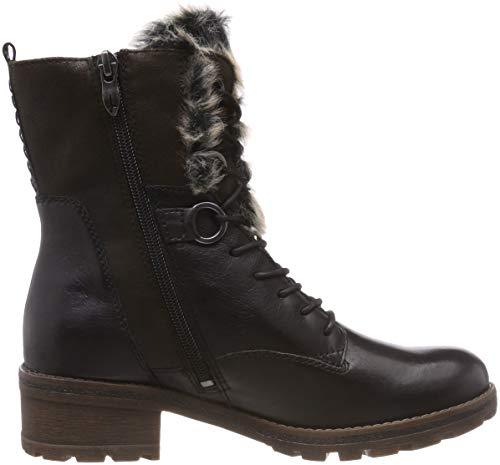 98 Comb Tamaris Black Women''s 21 Boots Snow 26212 black 8AAPqwx64