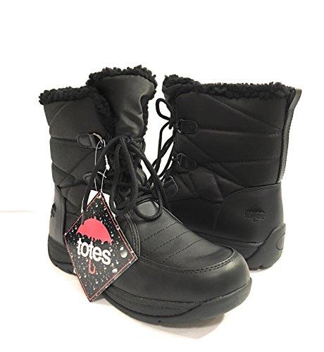 Women's Snow Lined Mid Boot Totes Calf Waterproof FfwB0xBqS