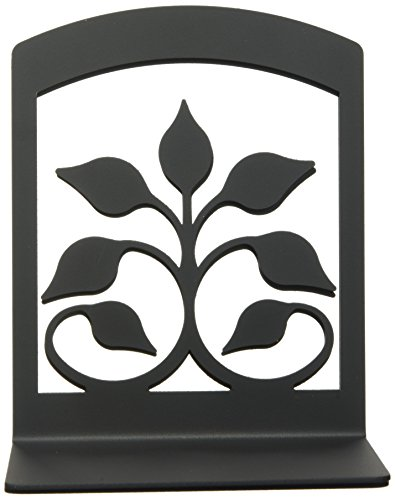 6.25 Inch Leaf Fan Book Ends (Leaf Village Wrought Iron)
