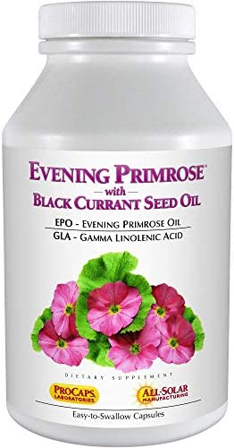 Andrew Lessman Evening Primrose with Black Currant Seed Oil, 180 Softgels