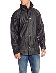 Helly Hansen Workwear Impertech II Deluxe Rain and Fishing Jacket, Black, L