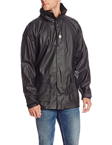 Helly Hansen Workwear Impertech II Deluxe Rain and Fishing Jacket, Black, M by Helly Hansen