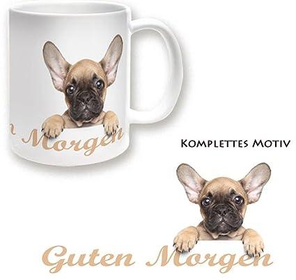 Becher Französische Bulldogge Guten Morgen Becher