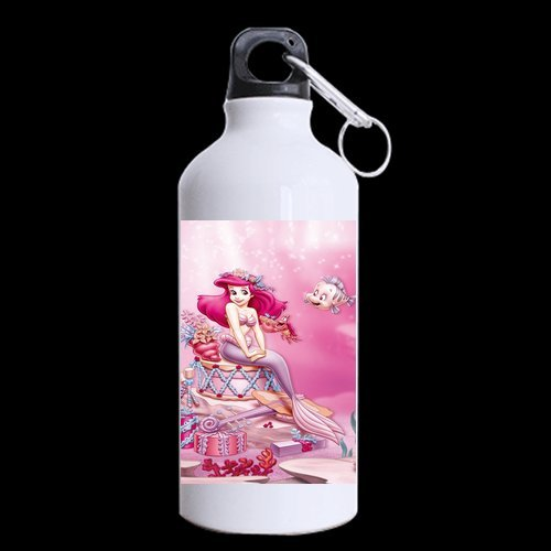 Stylish Design Print Cute Cartoon Film Little Mermaid Pictures For Girl Sports Bottle Hot sale Beautiful Cup-1
