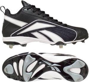 281b8ae5f4f8 Reebok Vero FL M5 Mid II Men s Baseball Cleats (Black White) - Buy Online  in Oman.