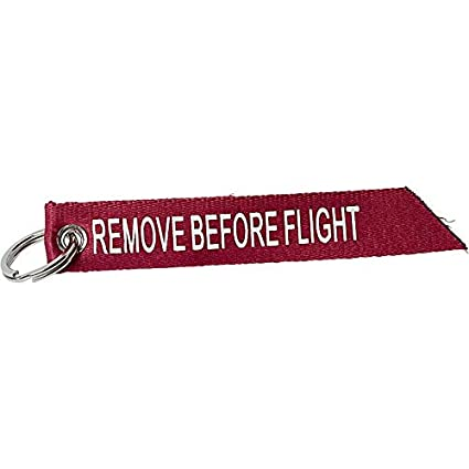 Polo Remove Before Flight - Llavero Unisex (Textil), Color ...