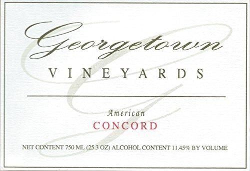 NV Georgetown Vineyards Estate Grown Ohio Concord Wine 750ml