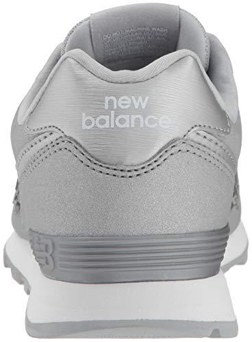 silver New Argenté Balance 574v2 Ks silver Enfant Baskets Mixte UOC4f7Uwq