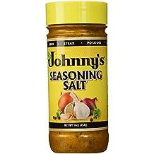 Johnny's Seasoning Salt, Chef Blended, 16 oz