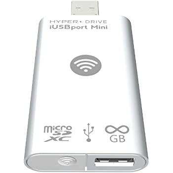 HyperDrive iUSBport Mini Wireless Flash Drive for iPhone, iPad and Android