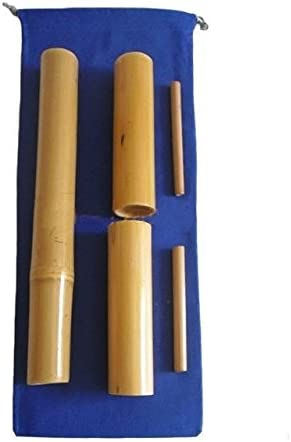 Kit 5 bambuterapia - cañas de bambú para masaje corporal.
