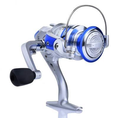 (Zizule Spinning Fishing Reel 1000-6000 Metal Coil Boat Rock Fishing Wheel)