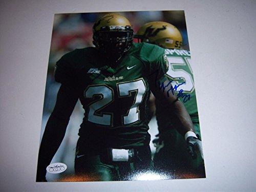 Autographed Tyrone McKenzie Photo - South Florida holo 8x10 - JSA Certified - Autographed College ()
