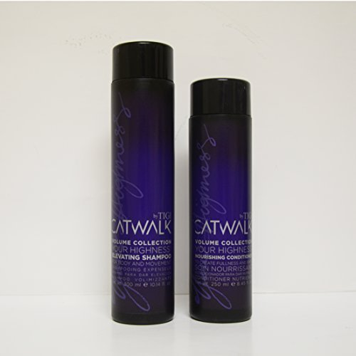 Tigi Catwalk Volume Collection Your Highness Elevating Shampoo 10.14oz & Nourishing Conditioner 8.45oz Duo by Tigi