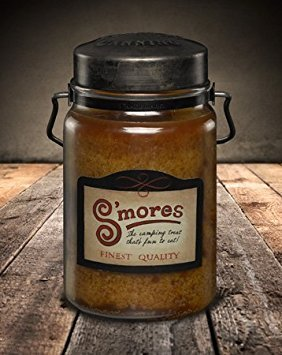 Smores Country Candle made our list of cool gadgets for our 10 Campfire Smores Recipes Smore Variations That Will Make Your Mouth Water