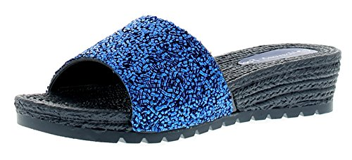 Sandales Feet Marine Zinnia 7 Femmes Tailles Compensées UK Heavenly 3 Marine xtwdqXt1