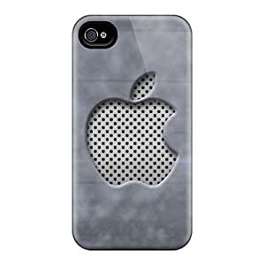 Shock-Absorbing Hard Phone Cover For Iphone 4/4s With Customized Stylish Iphone Wallpaper Image JasonPelletier hjbrhga1544